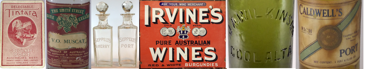 Australian Wine Collectables