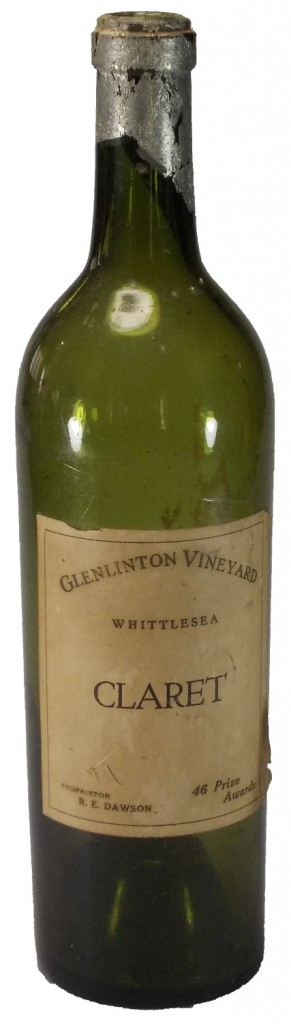 Glenlinton Claret Bottle