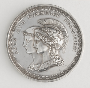 Blaxland Silver Medal Obverse